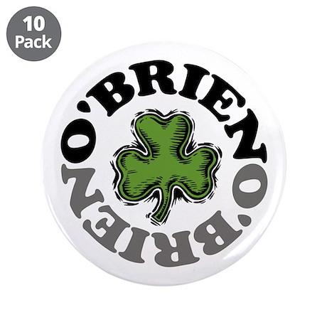 "O'Brien 3.5"" Button (10 pack)"