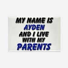 my name is ayden and I live with my parents Rectan