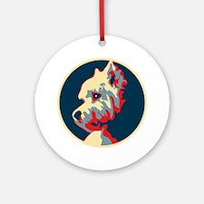 Vote Westie! - Ornament (Round)