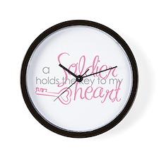 Key to my heart Wall Clock