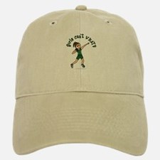 Light Green Shot Put Baseball Baseball Cap