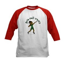 Dark Green Shot Put Tee