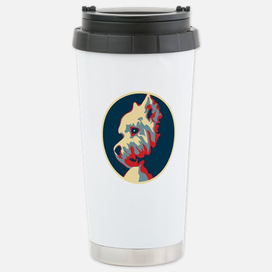 Vote Westie! - Stainless Steel Travel Mug