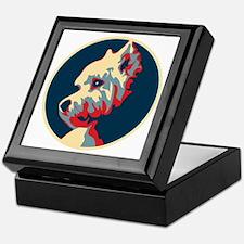 Vote Westie! - Keepsake Box