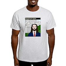 Singing Fish Ash Grey T-Shirt