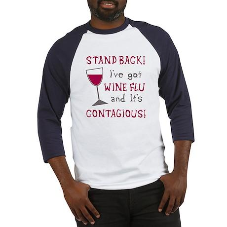 Wine Flu Baseball Jersey