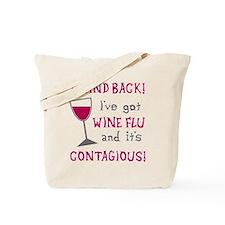 Wine Flu Tote Bag