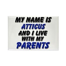 my name is atticus and I live with my parents Rect