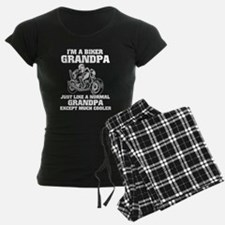 I'm A Biker Grandpa T Shirt Pajamas