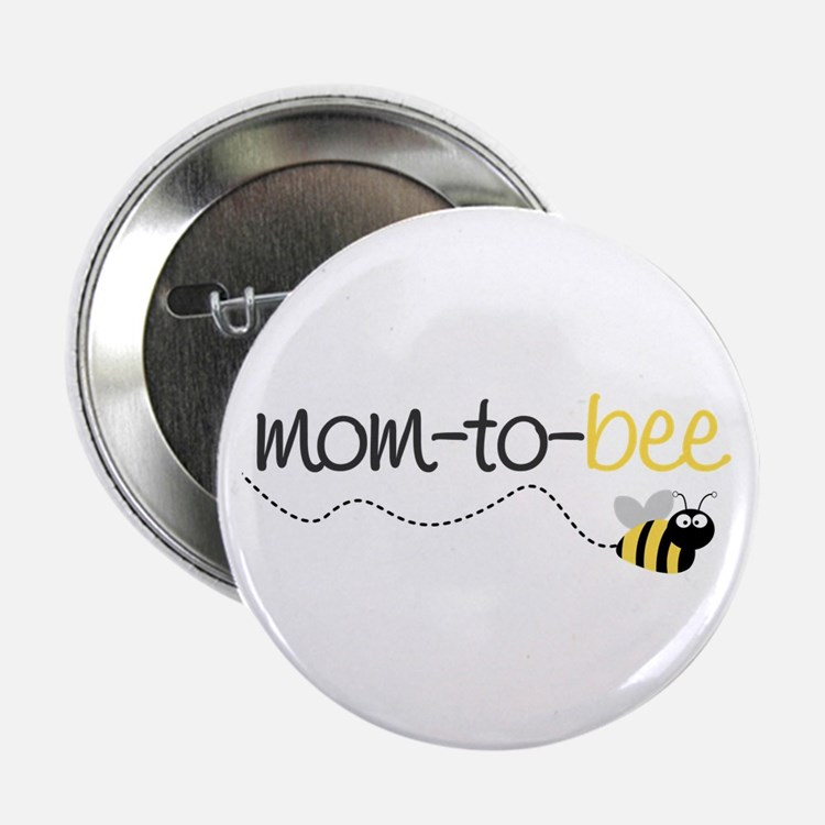 mom to be t shirt Button