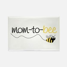 mom to be t shirt Rectangle Magnet