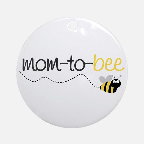 mom to be t shirt Ornament (Round)