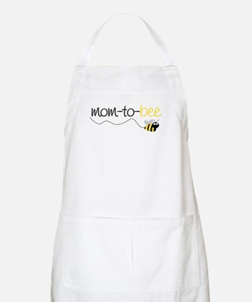 mom to be t shirt BBQ Apron