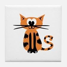 Cat Tile Coaster