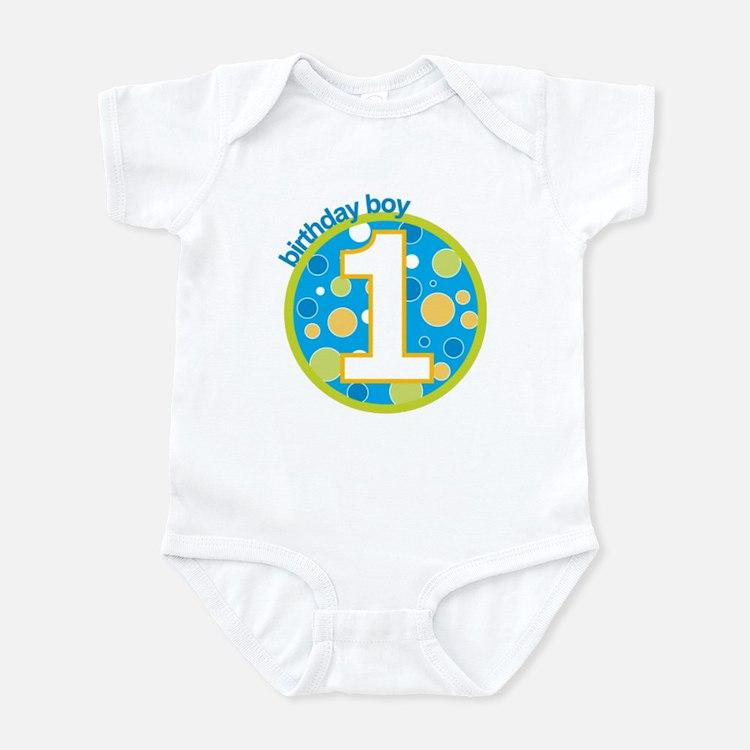 first birthday boy t-shirts Infant Bodysuit