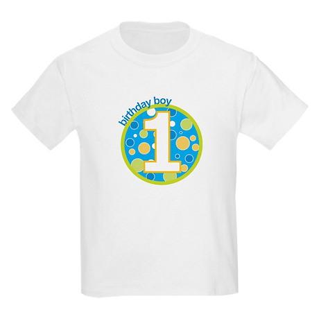 first birthday boy t-shirts Kids Light T-Shirt