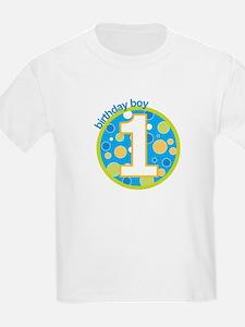 first birthday boy t-shirts T-Shirt