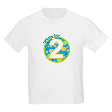 2nd birthday t-shirts Kids Light T-Shirt
