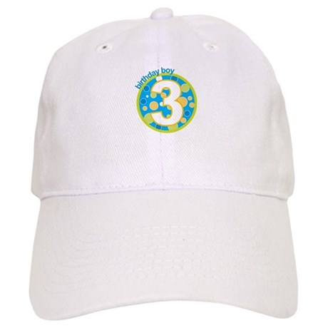 3rd birthday t-shirts Cap