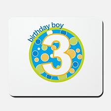 3rd birthday t-shirts Mousepad