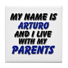 my name is arturo and I live with my parents Tile