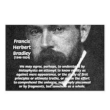 British Idealism Bradley Postcards (Package of 8)