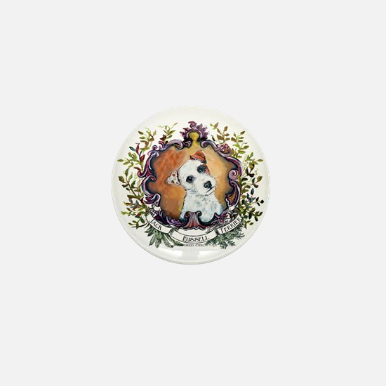 Vintage Jack Russell Terrier Mini Button