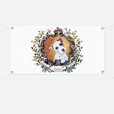 Vintage Jack Russell Terrier Banner
