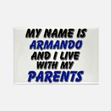 my name is armando and I live with my parents Rect