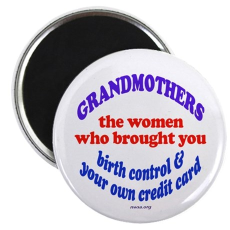"""GRANDMOTHERS 2.25"""" Magnet (10 pack)"""