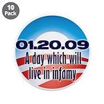 "Anti Obama 3.5"" Button (10 pack)"