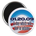 "Anti Obama 2.25"" Magnet (100 pack)"
