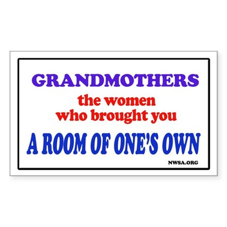 GRANDMOTHERS Rectangle Sticker