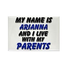 my name is arianna and I live with my parents Rect
