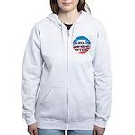 Anti Obama Women's Zip Hoodie