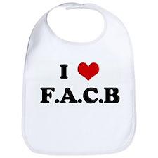 I Love F.A.C.B Bib