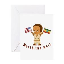 Ethiopia Adoption Greeting Card