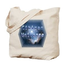 Citizen of the Universe Tote Bag