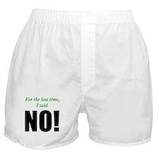 Willpower Boxer Shorts