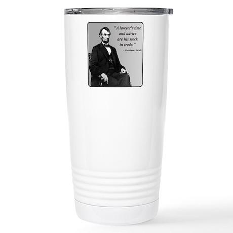 Lincoln Stainless Steel Travel Mug