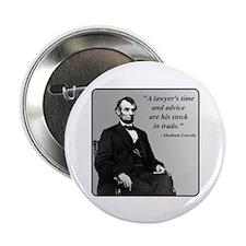 """Lincoln 2.25"""" Button"""