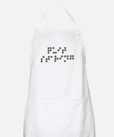Braille - quit staring BBQ Apron
