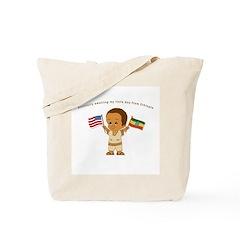 Awaiting my little boy Ethiopia Adoption Tote Bag