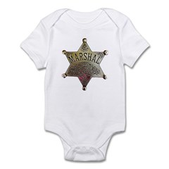 Old West Marshal Infant Bodysuit
