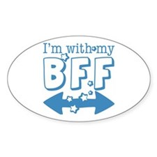 I'm with My BFF (BOTH) Decal