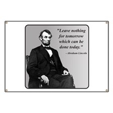 Lincoln Banner