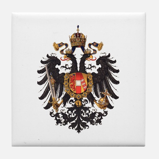 Austrian Empire Tile Coaster