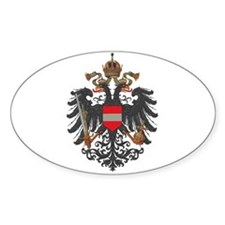 Austrian Empire (alt) Oval Decal