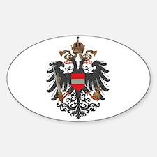 Austrian Empire (alt) Oval Decal