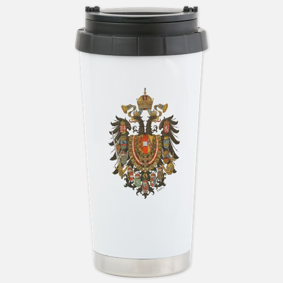 Austria-Hungary Stainless Steel Travel Mug